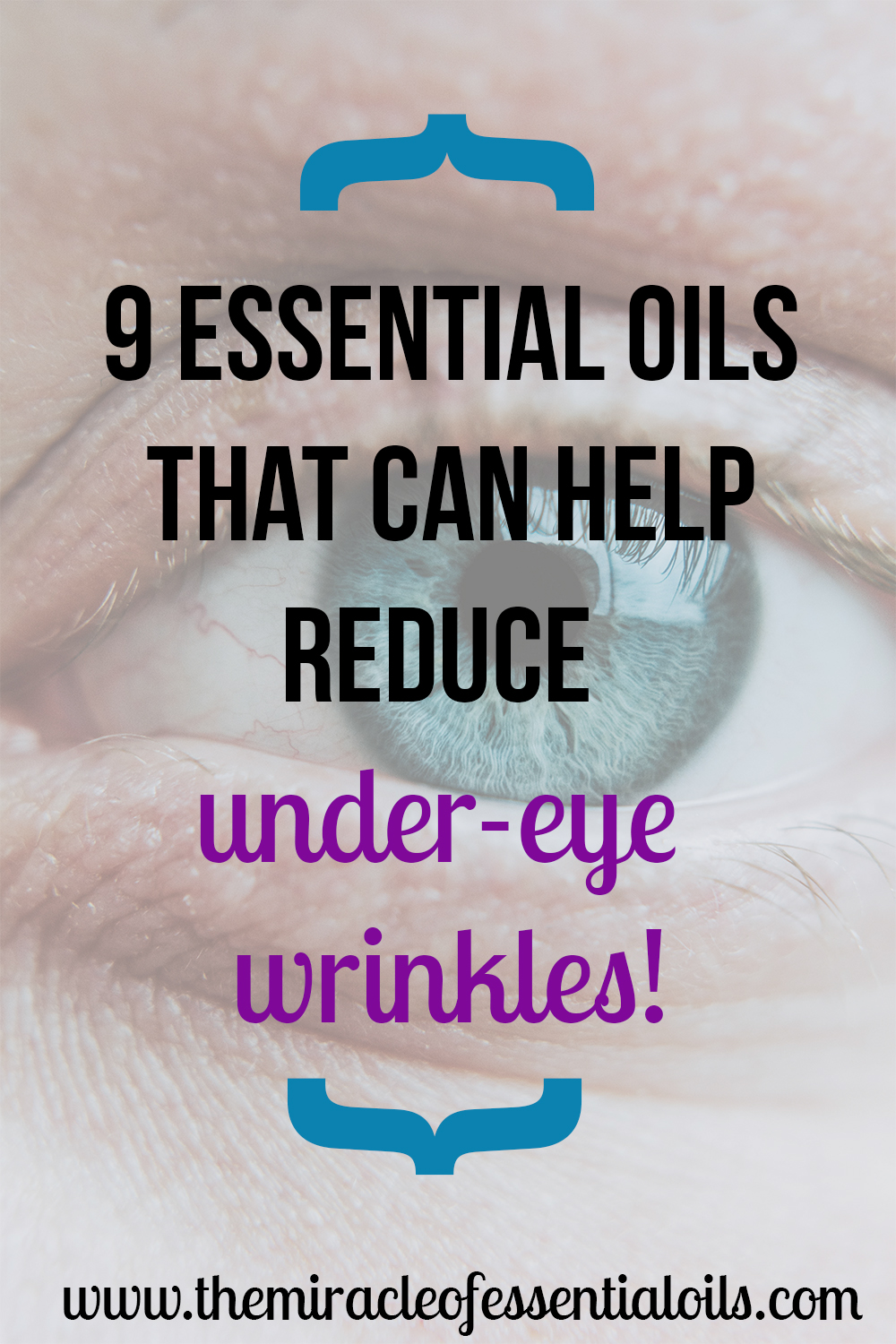 Have you heard of using essential oils for under-eye wrinkles?! Here are the safe and effective ones you can use plus how they actually work.