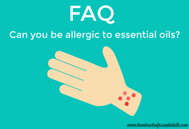 can you be allergic to essential oils