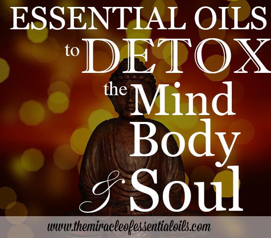 essential oils to detox