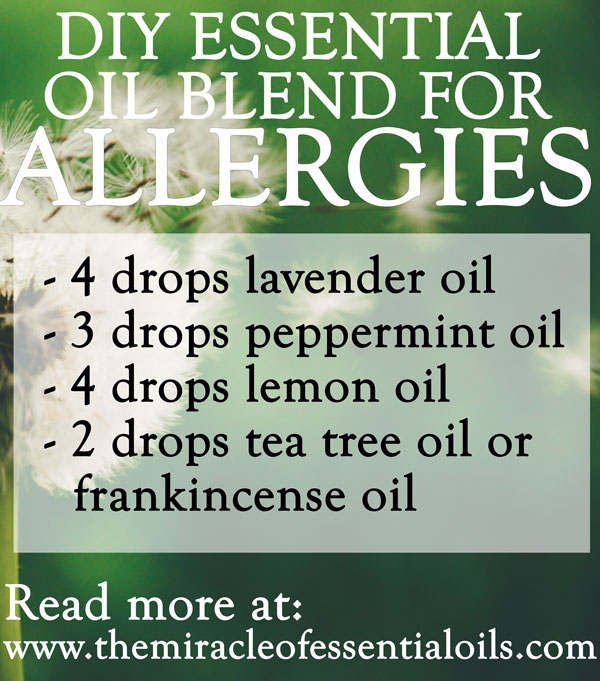 DIY Essential Oil Blend for Allergies to Get Quick Relief