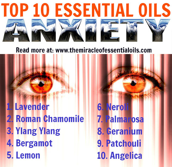 Top 10 Essential Oils for Anxiety Disorder