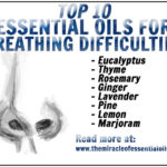 10 Essential Oils for Breathing Difficulties with 5 Recipes