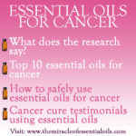 The Case of Essential Oils for Cancer