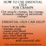 Best Essential Oils for Cramps including Muscle, Leg, Stomach & Menstrual Cramps (Plus How to Use)