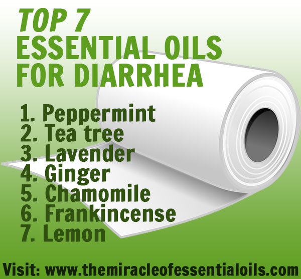 7 Best Essential Oils for Diarrhea & How to Use