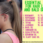 15 Essential Oils for Hair Loss & Bald Spots