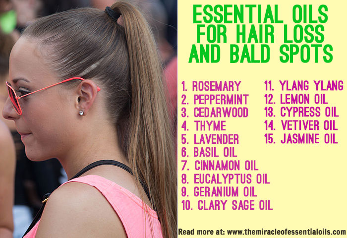 15 Essential Oils For Hair Loss Amp Bald Spots The Miracle