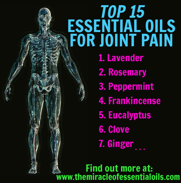 15 Potent Essential Oils For Joint Pain Relief The