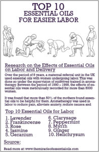 Safe to Use: Essential Oils for Labor