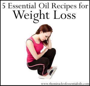 5 Essential Oil Recipes for Weight Loss