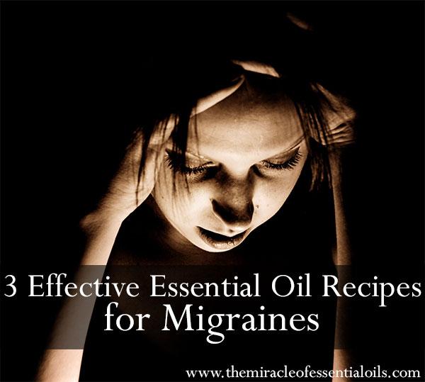 diy essential oil recipes for migraines