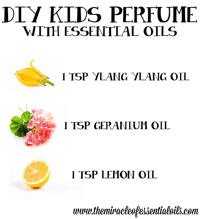 How to make your own essential oils perfume