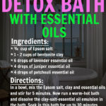 DIY Detox Bath with Essential Oils