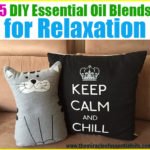 5 DIY Relaxing Essential Oil Blends