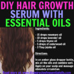 DIY Essential Oil Hair Growth Recipe