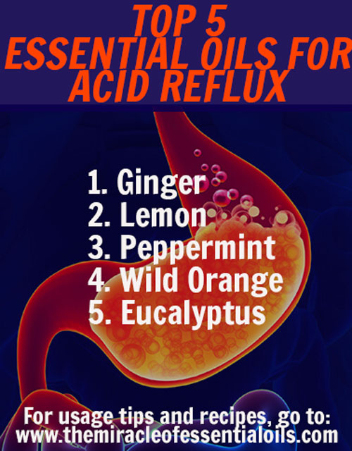 5 Essential Oils For Acid Reflux Amp How To Use Them As A