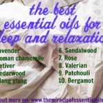 11 Essential Oils for Sleep and Relaxation