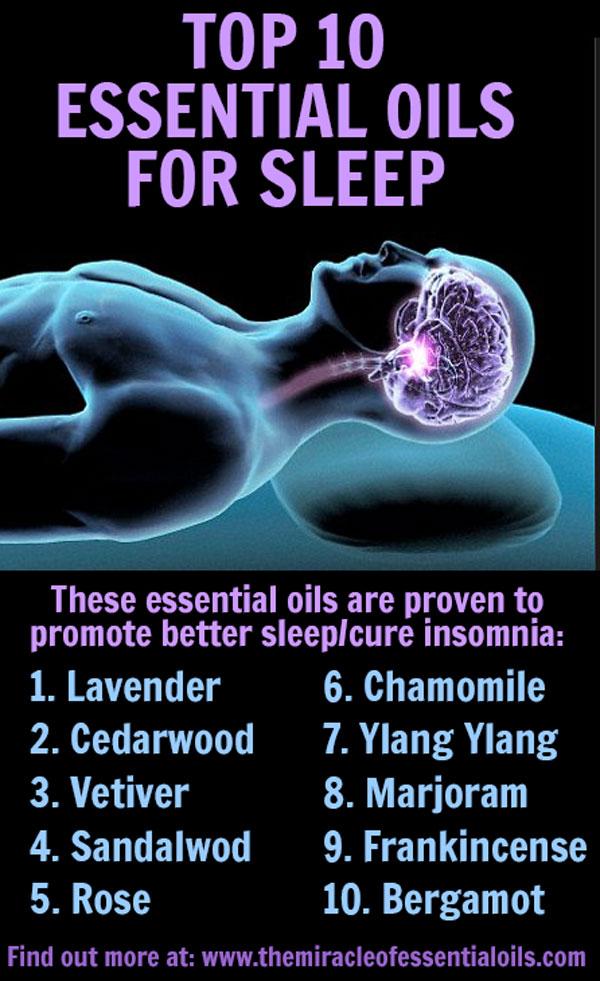 Top 10 Essential Oils For Insomnia Including 3 Diy Recipes