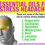 7 Essential Oils for Stress Headaches & 2 Effective DIY Blends