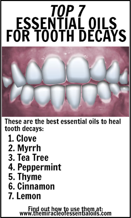 7 Essential Oils for Tooth Decays (plus DIY Toothpaste & Mouthwash Recipes)