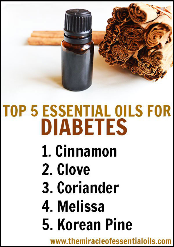 Discover the best essential oils for diabetes and how to use them!