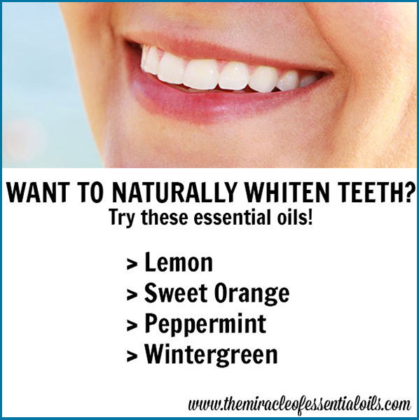Try essential oils for teeth whitening! They're all natural plus do work effectively for a whiter brighter smile!