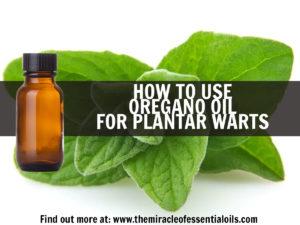 Use Oregano Oil for Plantar Warts