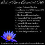 Top 10 List of Rare Essential Oils