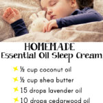 Homemade Essential Oil Sleep Cream