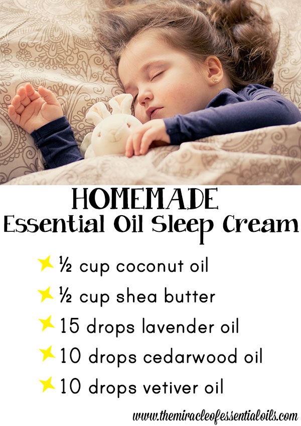diy essential oil sleep cream