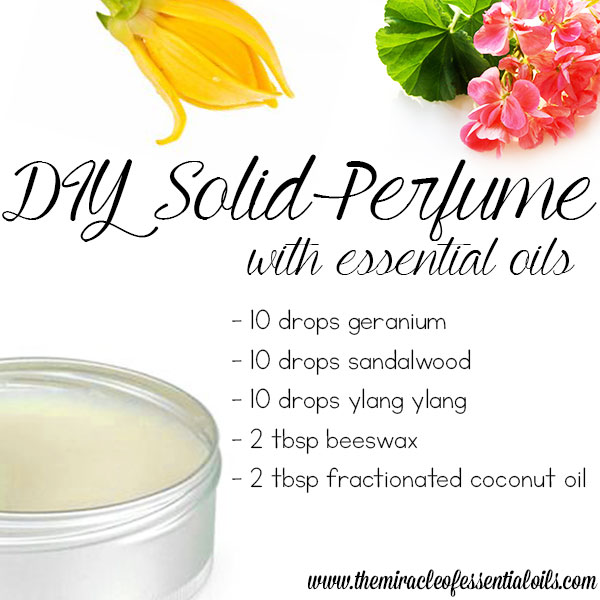 Easiest DIY Essential Oil Solid Perfume Recipe - The Miracle of