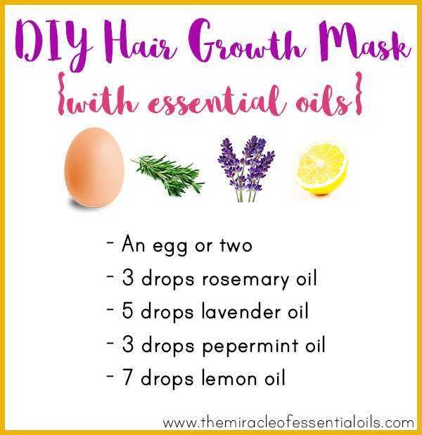 Diy Essential Oil Hair Growth Mask For Longer Thicker