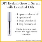 DIY Essential Oil Eyelash Growth Serum for Thicker Longer Lashes