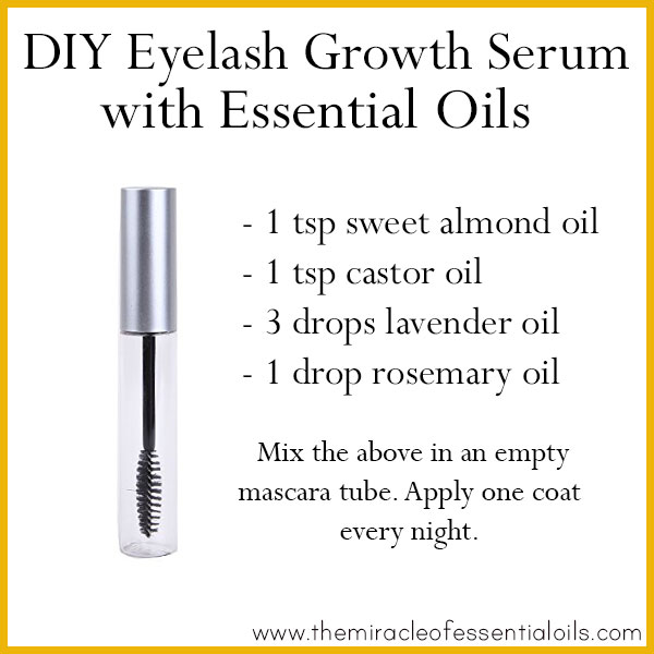 Diy Essential Oil Eyelash Growth Serum For Thicker Longer Lashes