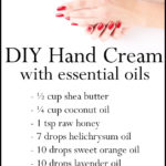 DIY Healing Essential Oil Hand Cream for Soft Smooth Hands