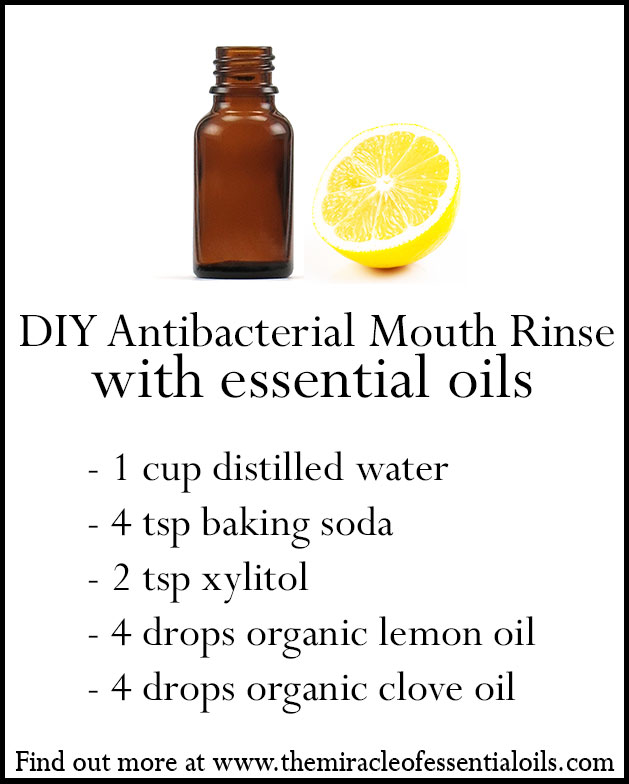 diy essential oil mouth rinse