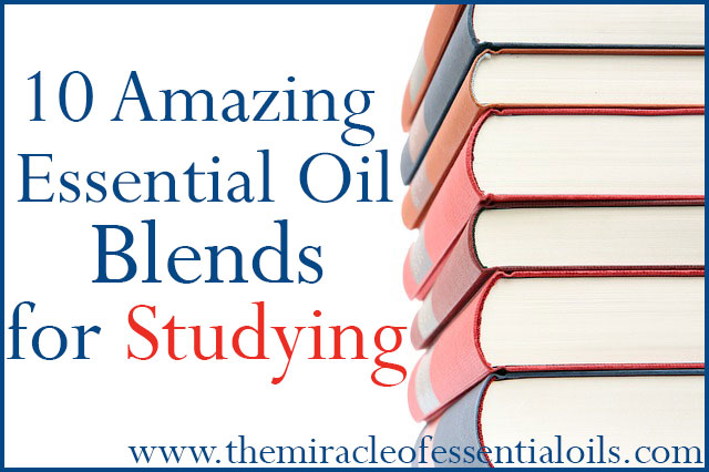 essential oil blends for studying