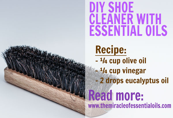 DIY Leather Shoe Cleaner with Essential Oils