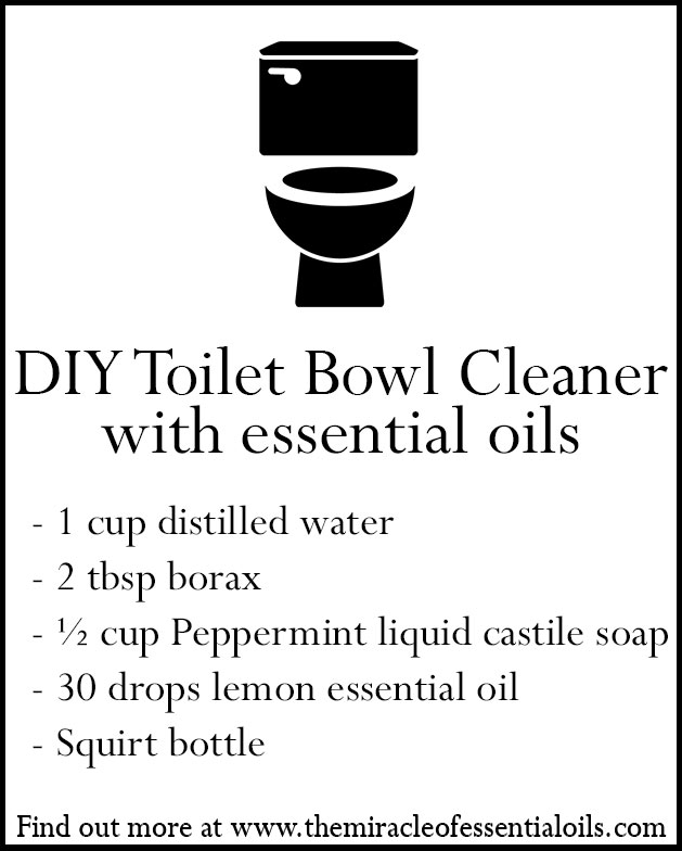 essential oil toilet bowl cleaner