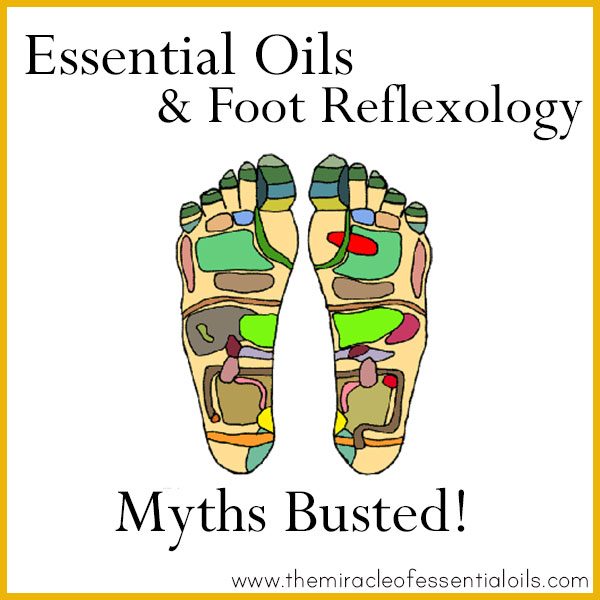 Foot Reflexology And Oil Usage Chart Trinity