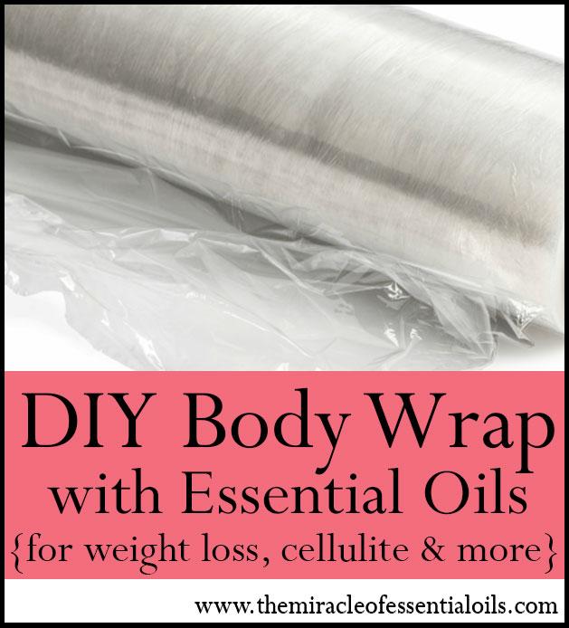 DIY Essential Oil Body Wrap