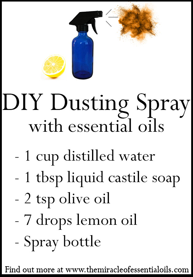 diy essential oil dusting spray recipe
