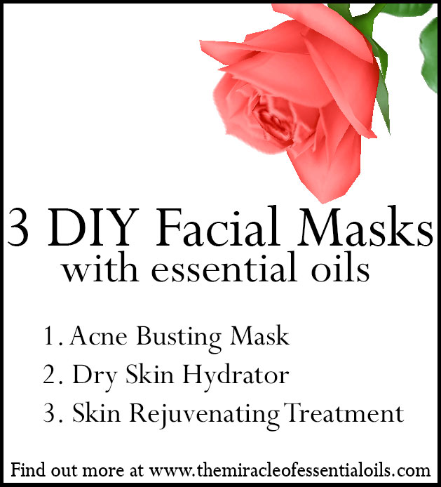 diy essential oil facial mask recipes