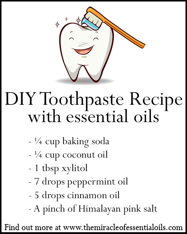 Want an all-natural, fluoride-free and paraben-free toothpaste? There's a recipe for one right here! Try this essential oil toothpaste recipe for healthy teeth and gums.