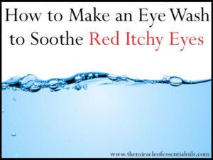 DIY Hydrosol Eye Wash for Clear, Healthy Eyes