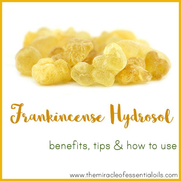 frankincense hydrosol benefits