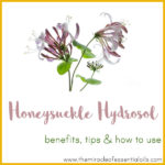 Honeysuckle Hydrosol Benefits, Tips & How to Use