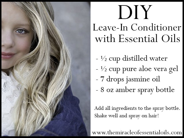Diy Essential Oil Leave In Hair Conditioner Spray Recipe The
