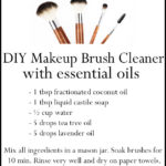 DIY Essential Oil Makeup Brush Cleaner