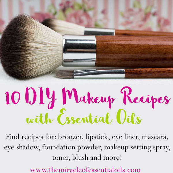 Diy Beauty Makeup Recipes With Essential Oils The